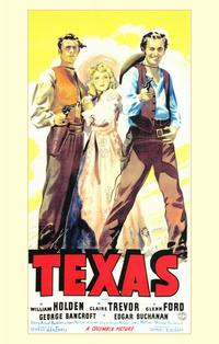 Texas - 11 x 17 Movie Poster - Style A