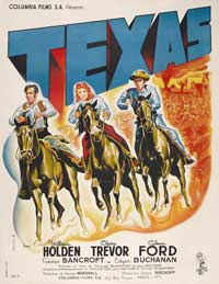 Texas - 11 x 17 Movie Poster - French Style A