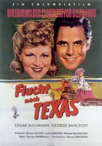 Texas - 11 x 17 Movie Poster - German Style A