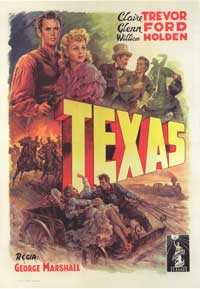 Texas - 43 x 62 Movie Poster - Italian Style A