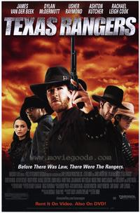 Texas Rangers - 11 x 17 Movie Poster - Style B