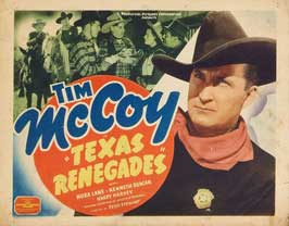 Texas Renegades - 22 x 28 Movie Poster - Half Sheet Style A