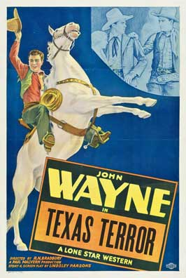 Texas Terror - 11 x 17 Movie Poster - Style B