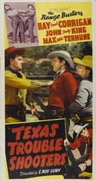 Texas Trouble Shooters - 27 x 40 Movie Poster - Style A