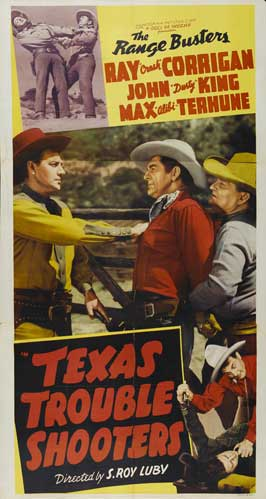 Texas Trouble Shooters - 11 x 17 Movie Poster - Style A