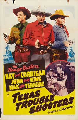 Texas Trouble Shooters - 11 x 17 Movie Poster - Style B