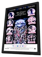 Thank God It's Friday - 11 x 17 Movie Poster - Style A - in Deluxe Wood Frame