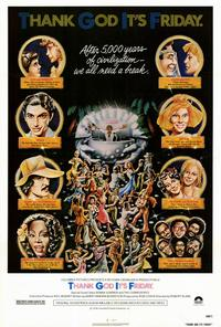 Thank God It's Friday - 27 x 40 Movie Poster - Style A