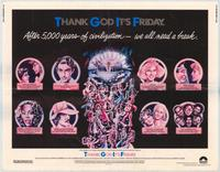 Thank God It's Friday - 11 x 17 Movie Poster - Style B