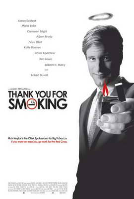 Thank You for Smoking - 27 x 40 Movie Poster - Style C