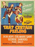 That Certain Feeling - 27 x 40 Movie Poster - Style B