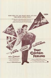 That Certain Feeling - 27 x 40 Movie Poster - Style A