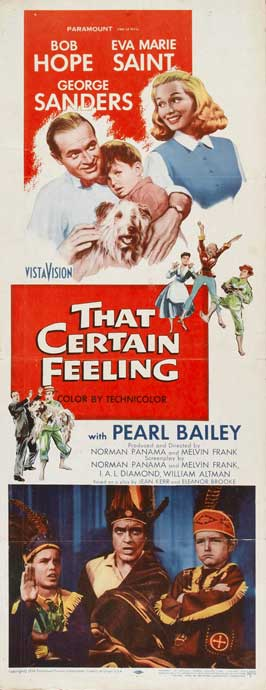That Certain Feeling - 14 x 36 Movie Poster - Insert Style A