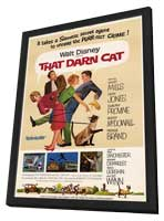 That Darn Cat - 11 x 17 Movie Poster - Style A - in Deluxe Wood Frame