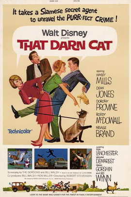 That Darn Cat - 11 x 17 Movie Poster - Style A