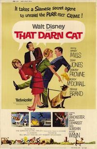 That Darn Cat - 11 x 17 Movie Poster - Style B