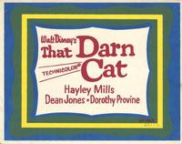 That Darn Cat - 11 x 14 Movie Poster - Style A