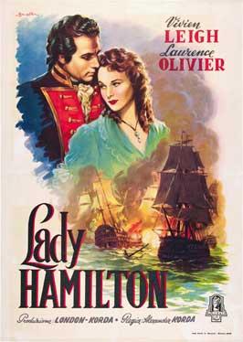 That Hamilton Woman - 11 x 17 Movie Poster - Italian Style A
