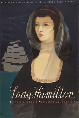 That Hamilton Woman - 11 x 17 Movie Poster - Polish Style A