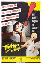 That Kind Of Girl - 27 x 40 Movie Poster - UK Style A