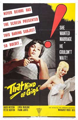 That Kind Of Girl - 11 x 17 Movie Poster - UK Style A