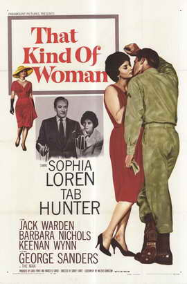 That Kind of Woman - 11 x 17 Movie Poster - Style A