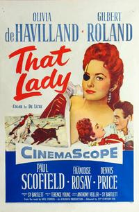 That Lady - 27 x 40 Movie Poster - Style A