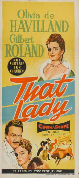 That Lady - 13 x 28 Movie Poster - Italian Style A