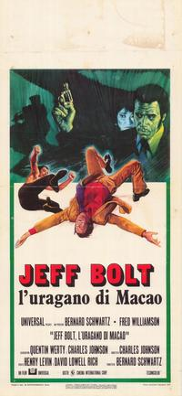 That Man Bolt - 39 x 55 Movie Poster - Italian Style A