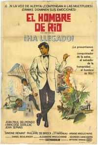 That Man from Rio - 11 x 17 Movie Poster - Spanish Style A