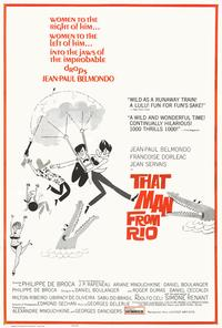 That Man from Rio - 27 x 40 Movie Poster - Style B