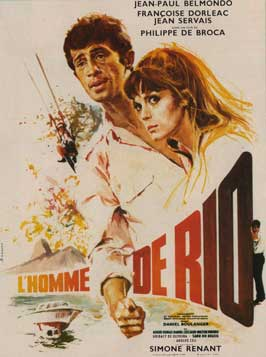 That Man from Rio - 11 x 17 Movie Poster - French Style A