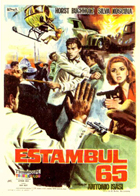 That Man in Istanbul - 11 x 17 Movie Poster - Spanish Style B