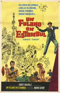 That Man in Istanbul - 11 x 17 Movie Poster - Spanish Style A