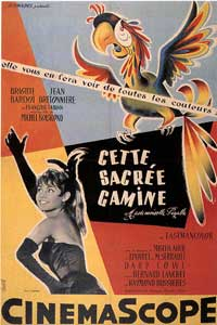 That Naughty Girl - 11 x 17 Movie Poster - French Style B
