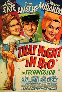 That Night in Rio - 27 x 40 Movie Poster - Style A