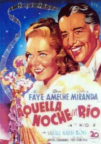 That Night in Rio - 11 x 17 Movie Poster - Spanish Style A