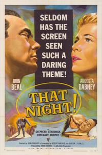 That Night - 43 x 62 Movie Poster - Bus Shelter Style A