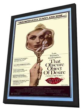That Obscure Object of Desire - 11 x 17 Movie Poster - Style A - in Deluxe Wood Frame