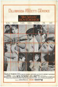 That Splendid November - 11 x 17 Movie Poster - Style A