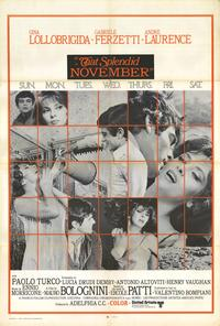 That Splendid November - 27 x 40 Movie Poster - Style A