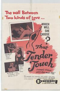 That Tender Touch - 11 x 17 Movie Poster - Style A