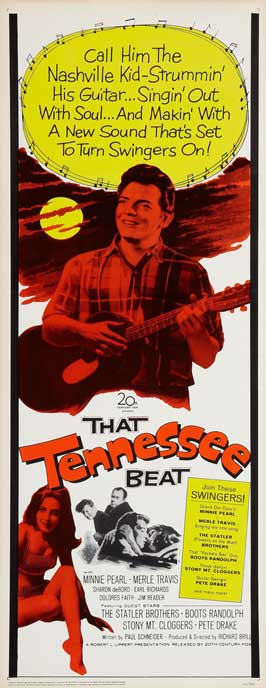 That Tennessee Beat - 14 x 36 Movie Poster - Insert Style A