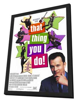 That Thing You Do! - 27 x 40 Movie Poster - Style B - in Deluxe Wood Frame