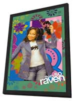 That's So Raven - 11 x 17 Movie Poster - Style F - in Deluxe Wood Frame