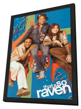 That's So Raven - 27 x 40 Movie Poster - Style D - in Deluxe Wood Frame