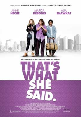 That's What She Said - 27 x 40 Movie Poster - Style A