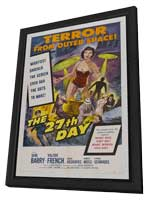 The 27th Day - 11 x 17 Movie Poster - Style B - in Deluxe Wood Frame