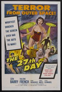 The 27th Day - 11 x 17 Movie Poster - Style B
