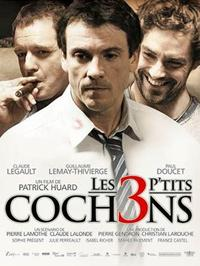 The 3 L'il Pigs - 11 x 17 Movie Poster - French Style B